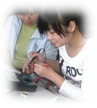 何雨婷电脑电器维修班学员